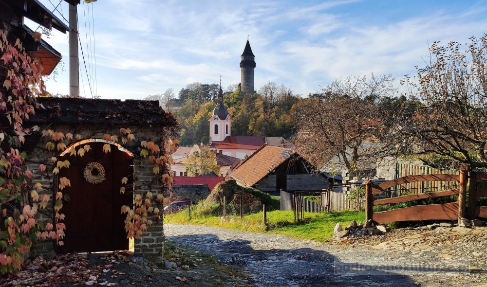 Štramberk Sztramberk czeskie miasteczka. Kraj morawsko-śląski