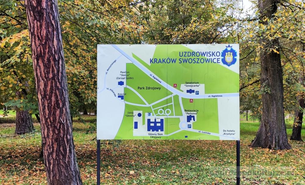 Park zdrojowy w Swoszowicach