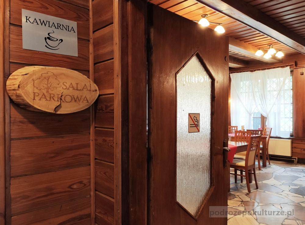 Restauracja Parkowa uzdrowisko Swoszowice
