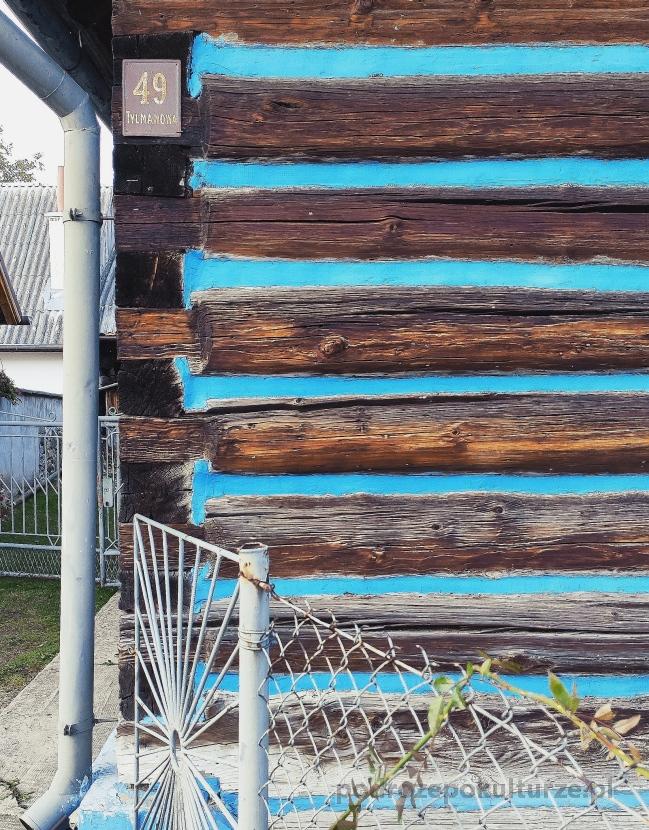Tylmanowa osiedle Klępy. Architektura drewniana małopolski