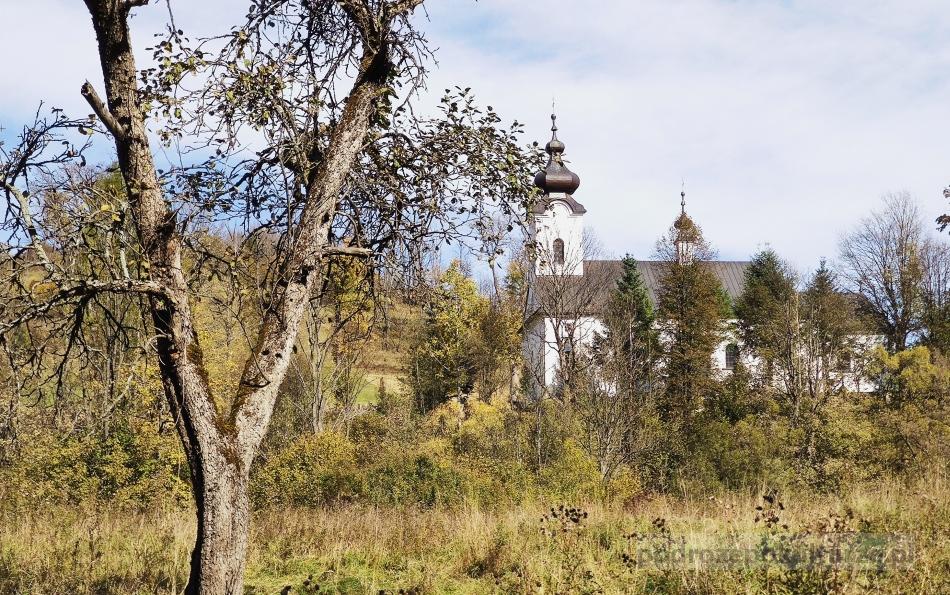 Kościół w Jaworkach. Ikonostas. Pieniny atrakcje
