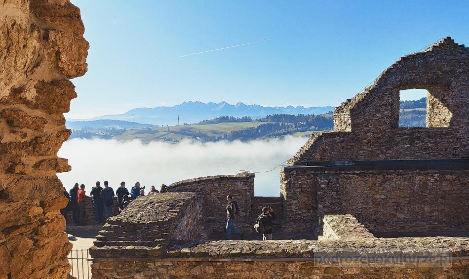 Zamek Czorsztyn. Pieniński Park Narodowy