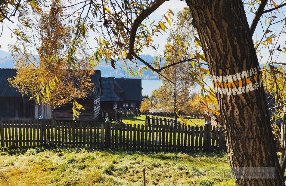 Kluszkowce osada historyczna. Skansen Czorsztyn