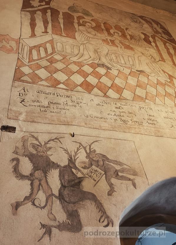 Diabły z kościoła w Krościenku nad Dunajcem