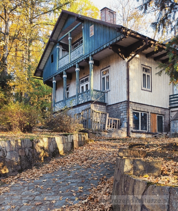 Pieniny: architektura drewniana uzdrowiska Szczawnica