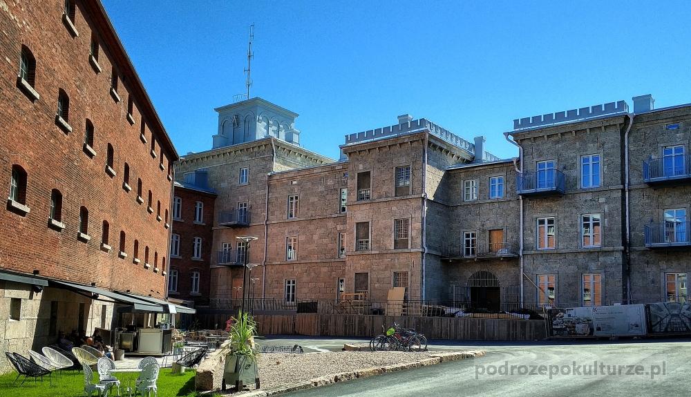 Dawne więzienie na wzgórzu Kakola w Turku