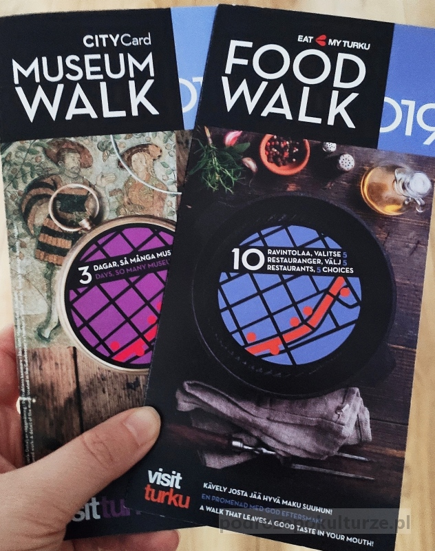 Museum Walk Card i Food Walk Card Turku