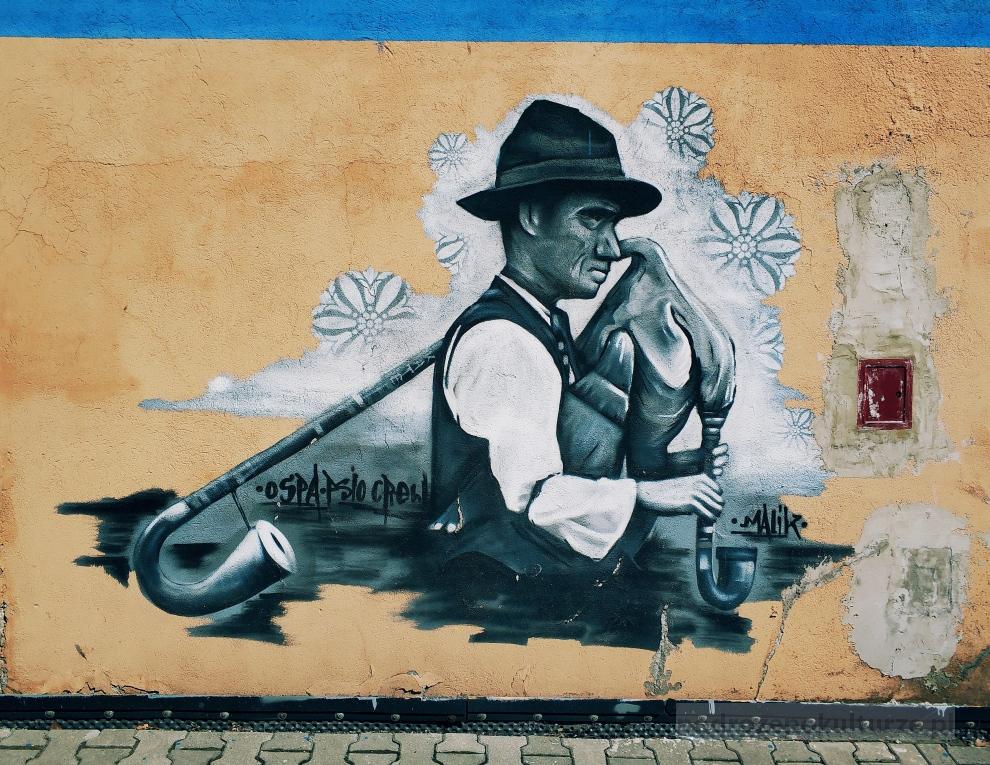 graffiti Bielsko-Biała Malik