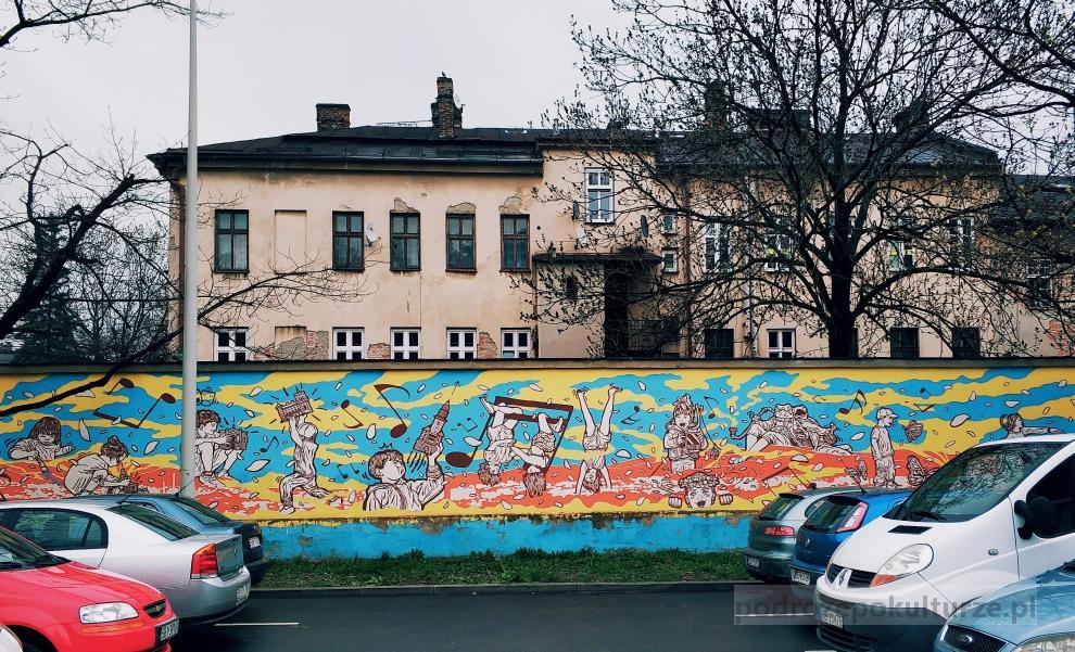 Bielsko-Biała to plac zabaw. Street art