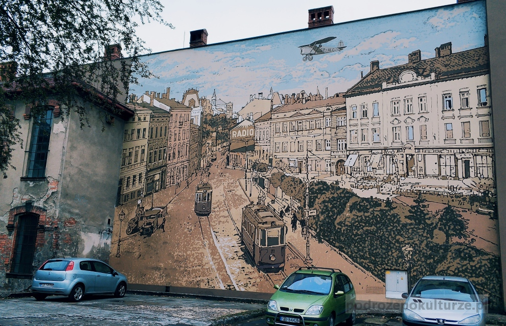 street art w Bielsku-Białej