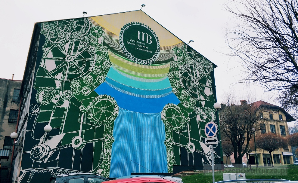 Street art w Bielsku-Białej. Stara Fabryka