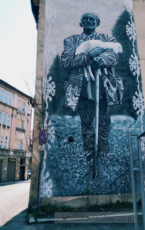 Pasterz Projekt Etnograff. Murale w Bielsku-Białej