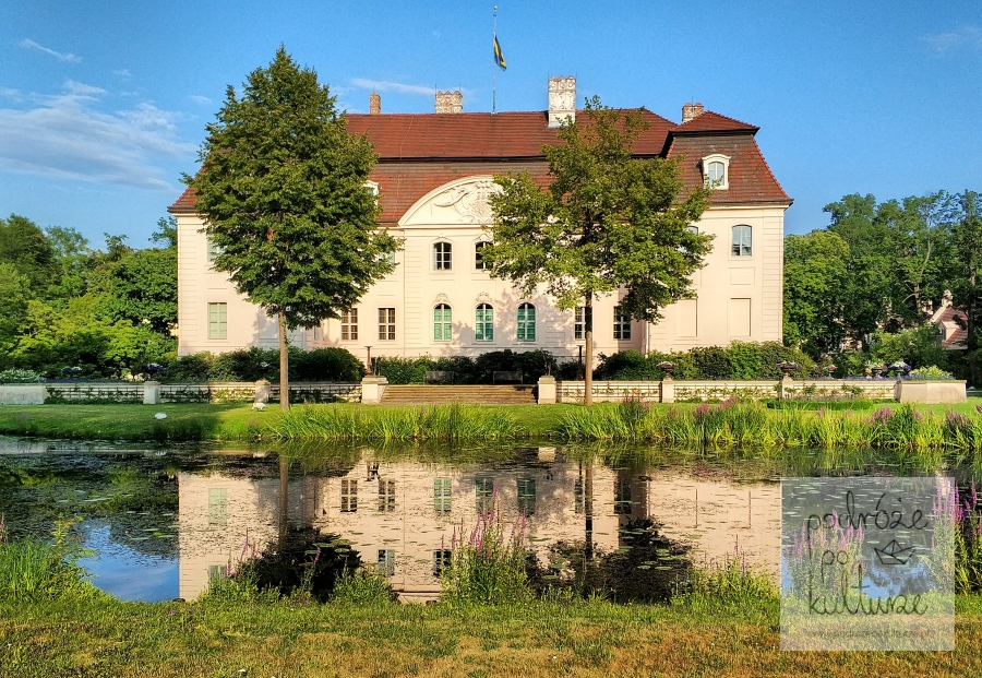 Zamek Hermanna Pucklera w w Branitz Cottbus