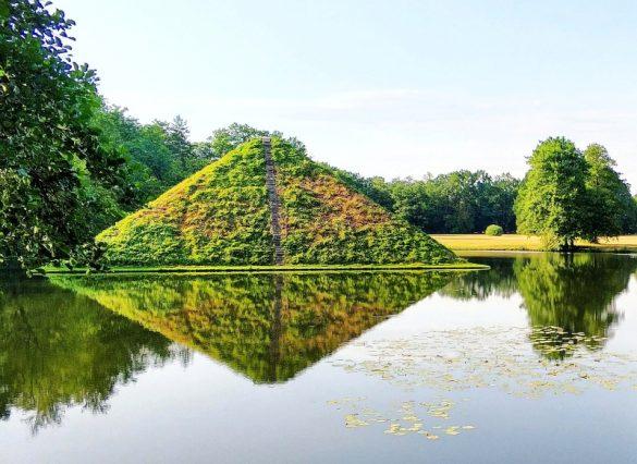 Piramida Puckler Branitz Cottbus
