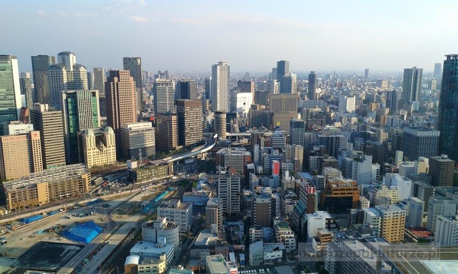 Osaka Umeda Sky Building. Tarasy widokowe w Osace