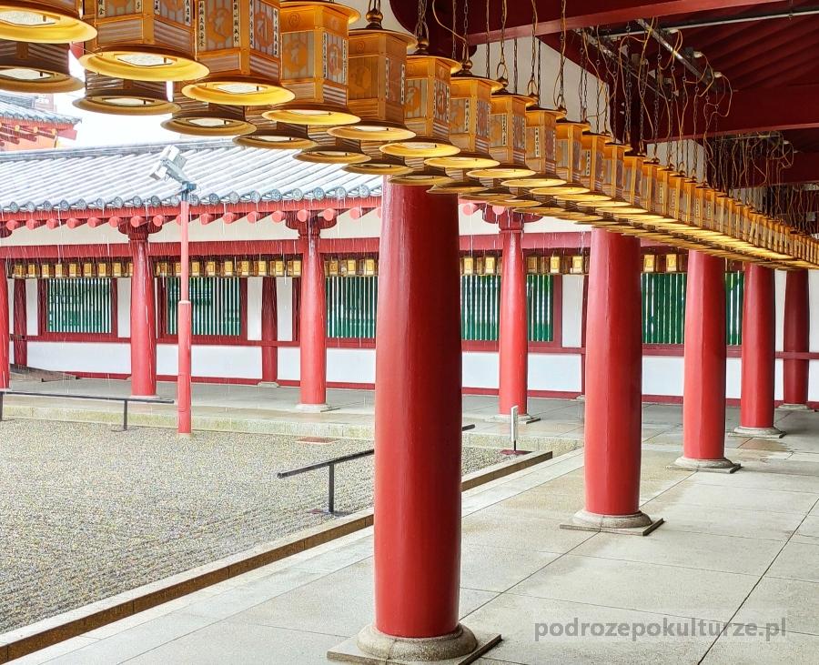 świątynia Shitennoji w Osace