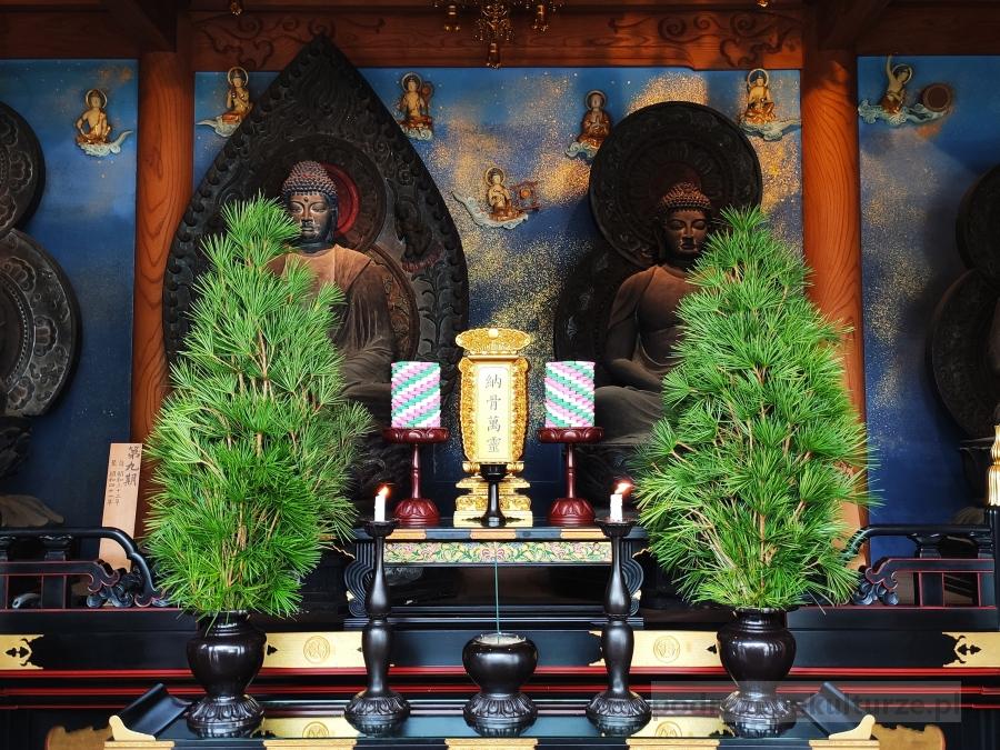świątynia Isshinji w Osace
