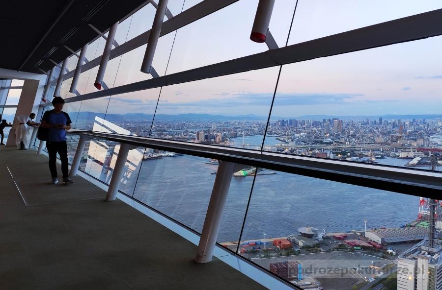 Sakishima Observatory w Cosmo Tower. Punkty widokowe w Osace