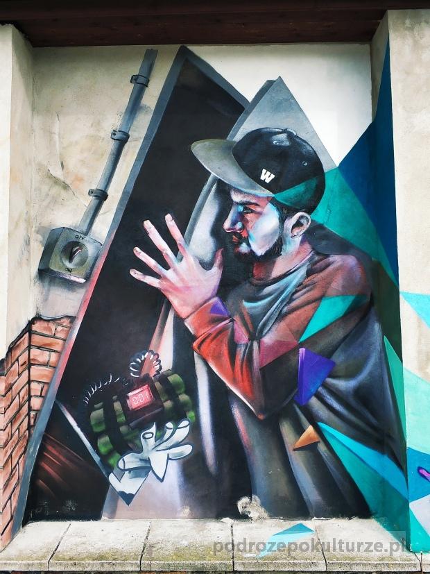 graffiti w Wolsztynie