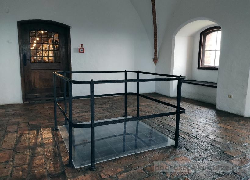 Zamek Kwidzyn - wnętrze gdaniska