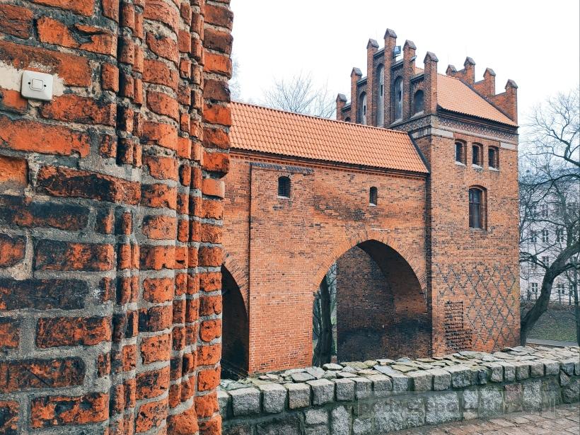 Wieża studzienna zamku w Kwidzynie