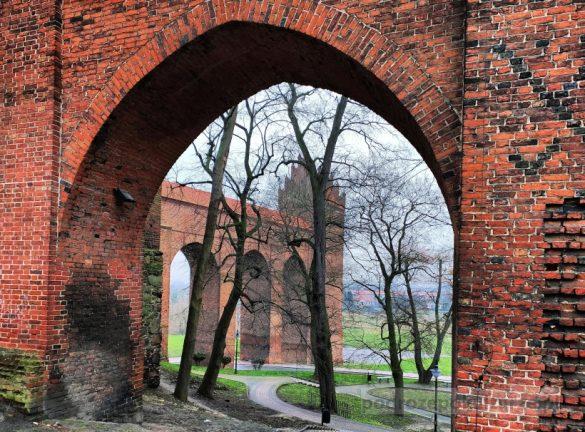 Kwidzyn zamek gotycki. Gdanisko. Największa latryna Europy