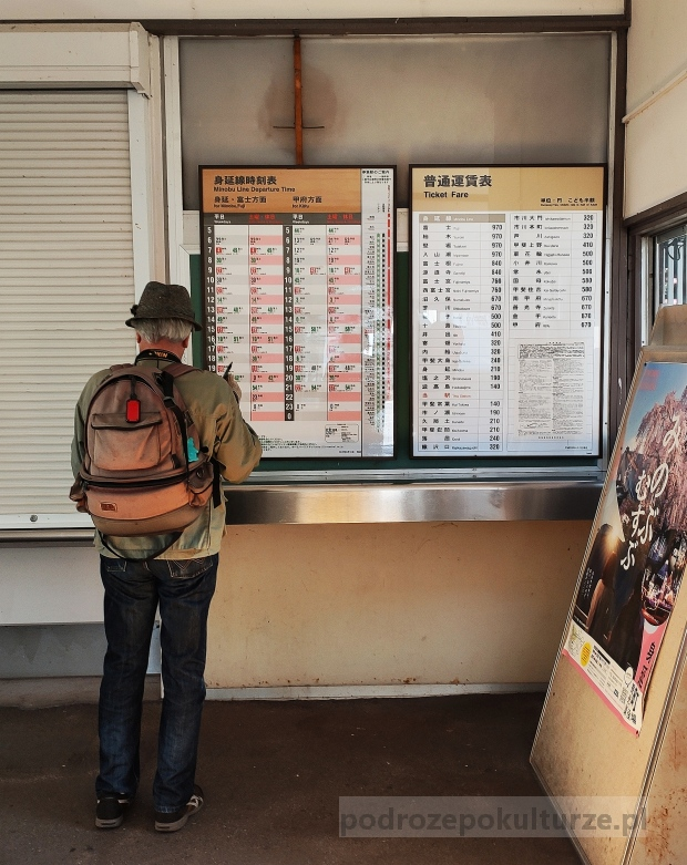 Shimobe train station