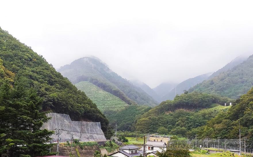 Japonia. Hotel Shimobe