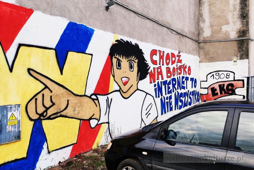 Murale we Włocławku. Street art Włocławek