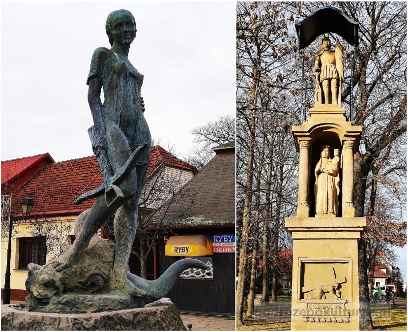 pomniki Niepołomic