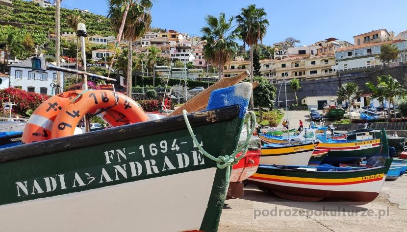 Câmara de Lobos − miasto na portugalskiej wyspie Madera