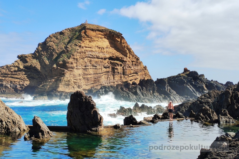 Porto Moniz naturalne baseny Madera