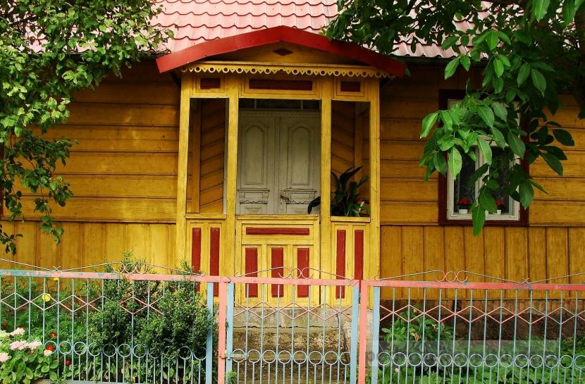 Architektura drewniana w otulinie Biebrzańskiego Parku Narodowego
