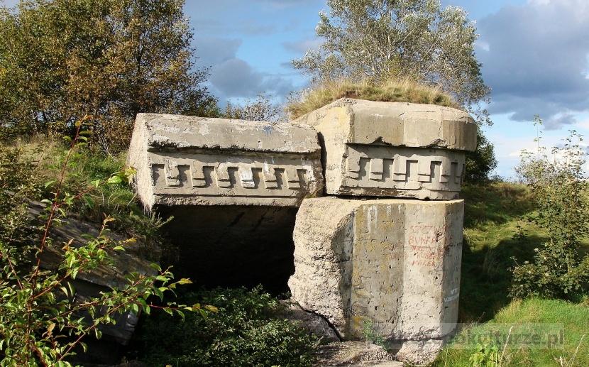 Biebrzański Park Narodowy twierdza osowiec. fort drugi nadrzeczny