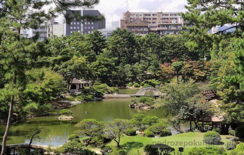 Ogród Shukkeien Hiroszima atrakcje turystyczne