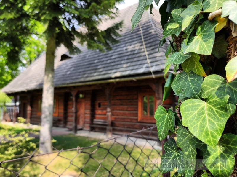 Szlak architektury drewnianej - karczma w Woli Justowskiej