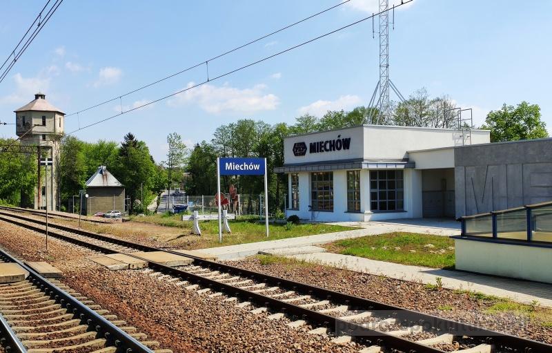 Miechów dworzec kolejowy