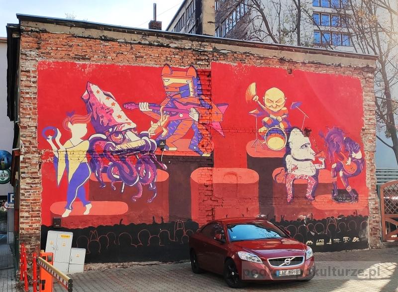 Street art w Opolu