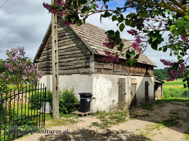 Glaznoty wieś na Wzgórzach Dylewskich