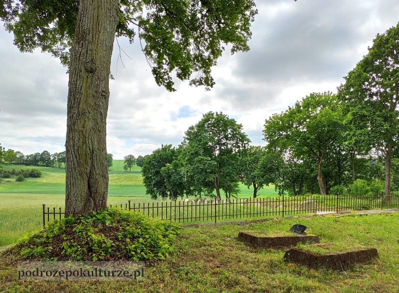 Glaznoty cmentarz przykościelny