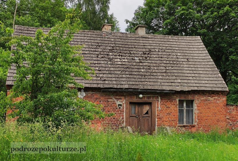 Glaznoty architektura wsi Prusy