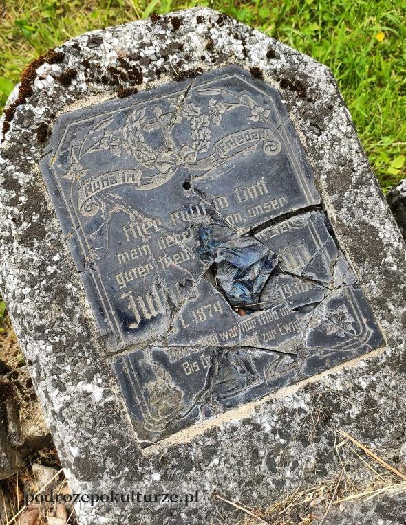 cmentarz ewangelicki w Glaznotach