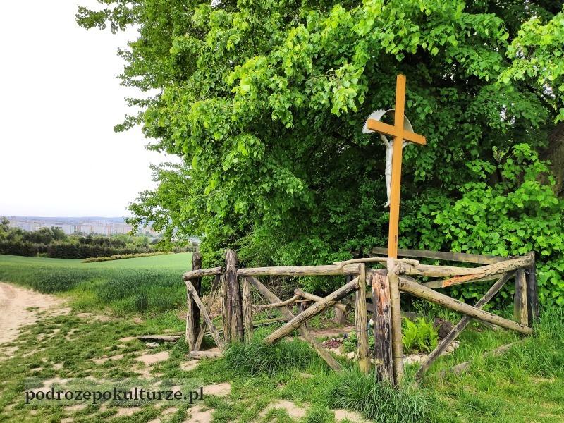 trasa turystyczno-kulturowa Bronowice Małe – Mydlniki krzyż pod Lipką