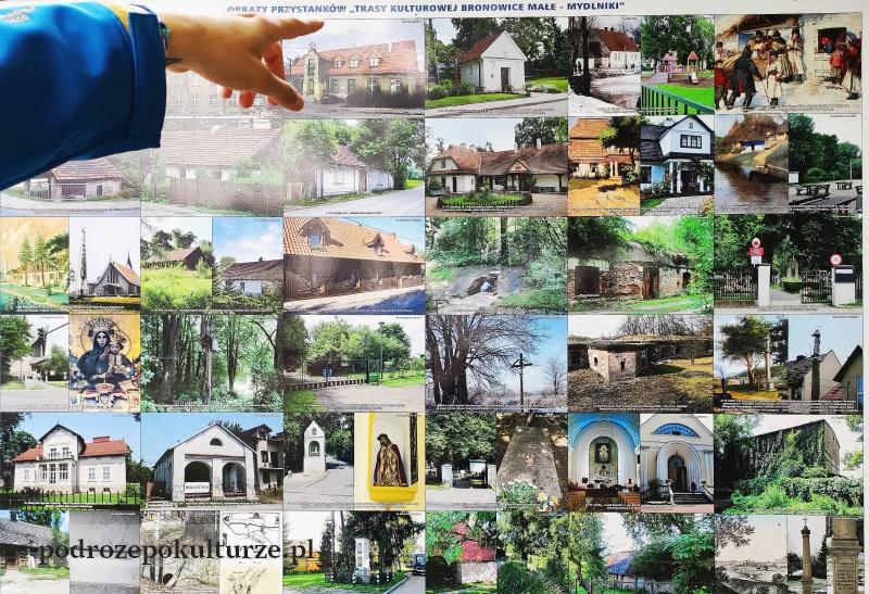 trasa turystyczno-kulturowa Bronowice Małe – Mydlniki