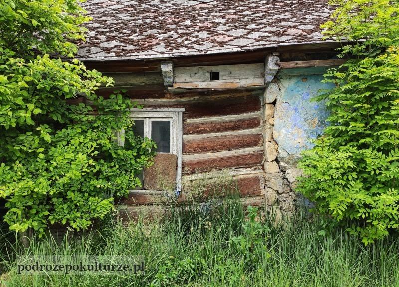 trasa turystyczno-kulturowa Bronowice Małe – Mydlniki. najstarszy dom w Mydlnikach