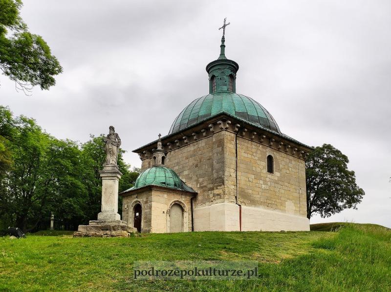 Ponidzie góra św. Anny. Kaplica św. Anny Santi Gucci