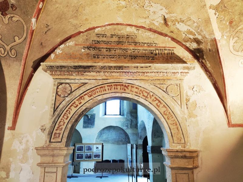 Synagoga w Pińczowie wnętrze