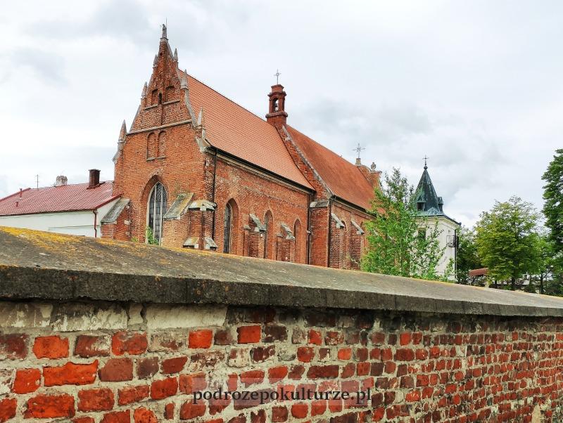 Nowy Korczyn, kościół pofranciszkański. Zabytki Ponidzia
