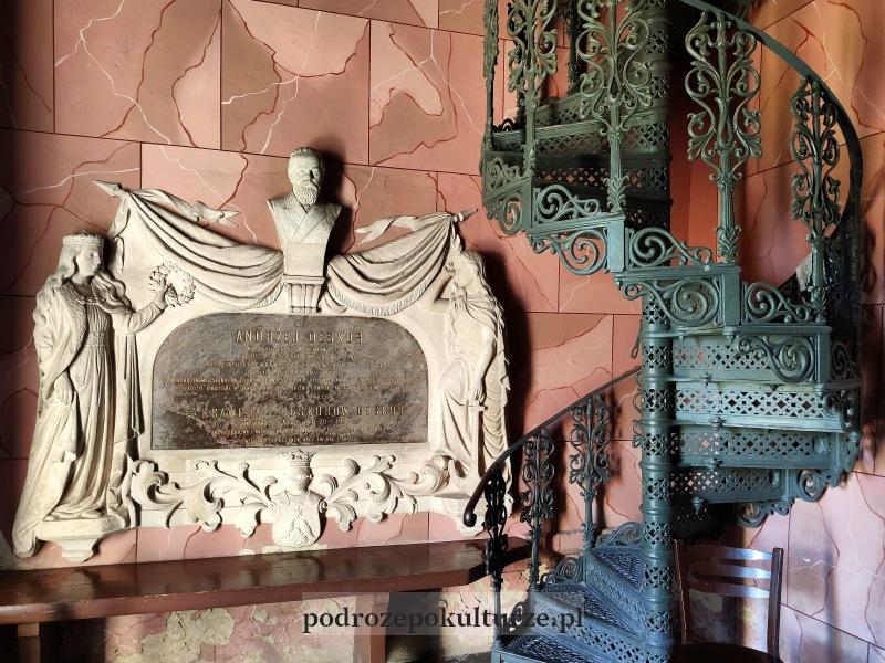 Epitafium Andrzeja Deskura w kościele w Sancygniowie