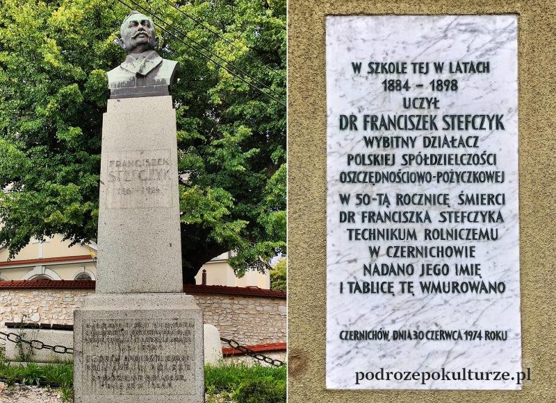 Franciszek Stefczyk w Czernichowie